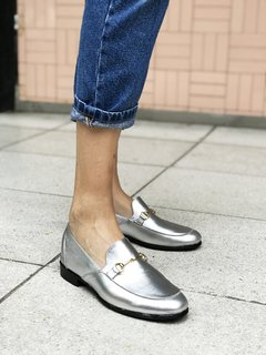 ZAPATO FLORENCE ENTERO PLATA - Camelia Shoes