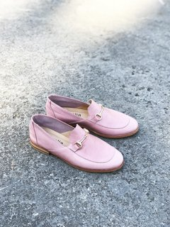 ZAPATO FLORENCE ENTERO ROSA 35 - Camelia Shoes