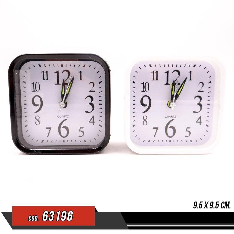 Reloj cuadrado de mesa - Venta por unidad - 63196