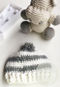 Gorro Grey al crochet lana Soft