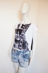 Camiseta Cropped Rock - Tam P
