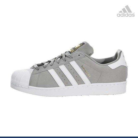 Adidas ORIGINALS SUPERSTAR Gamuza Gris