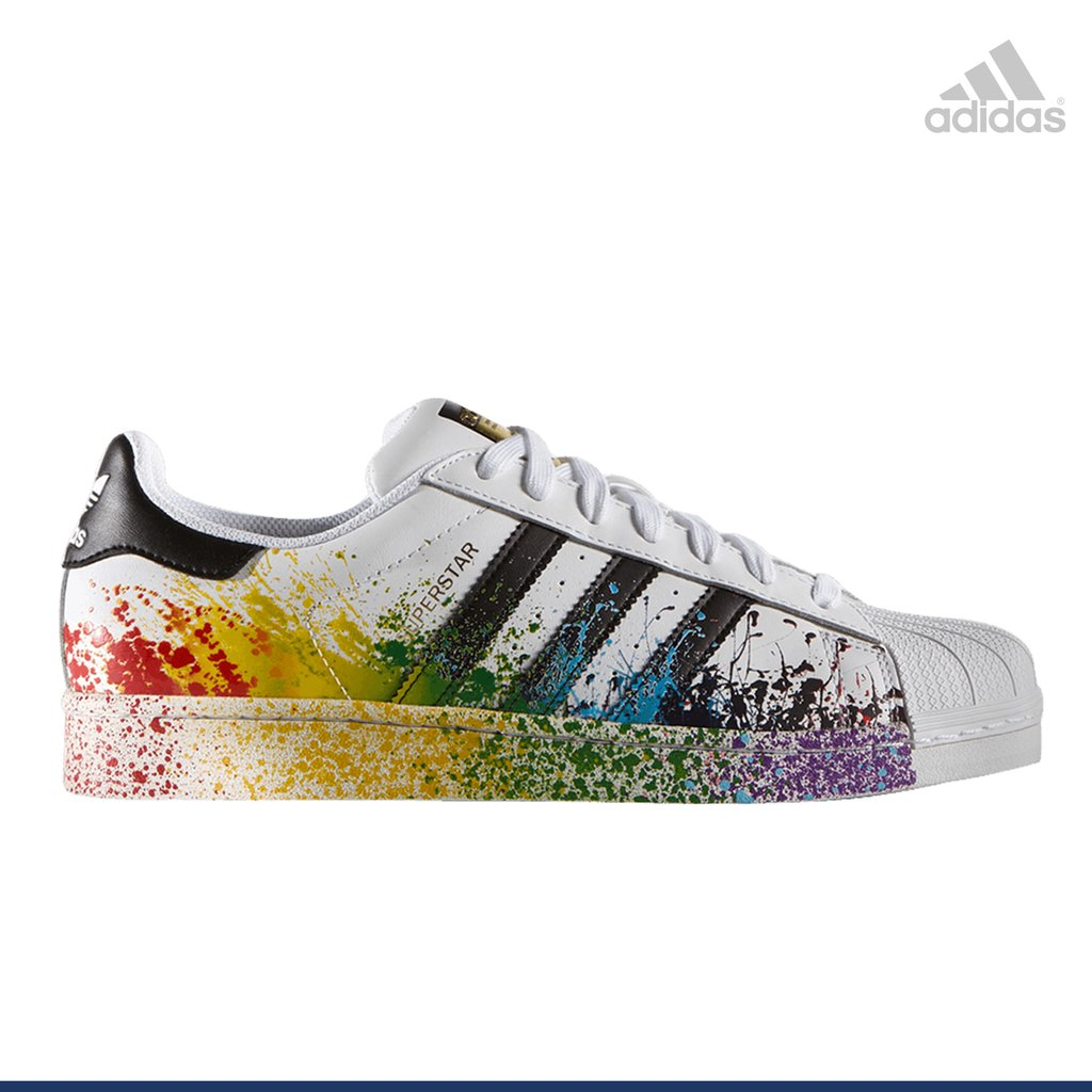superstar adidas de colores