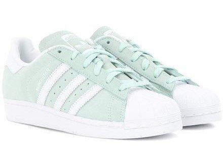 adidas superstar light green - 55