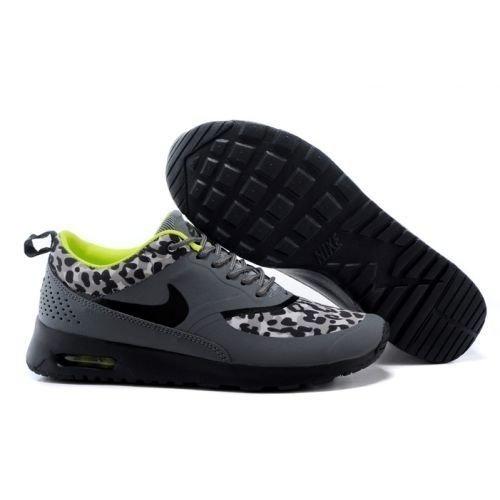 Nike air max thea print grisamarillo