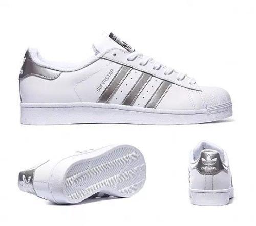 Adidas Superstar Originals Originals Adidas Plateadas QrBedCxoW