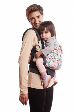 Mochila Ergonómica Toddler - Outlined Flowers - comprar online