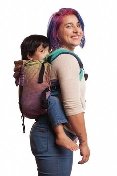 Mochila Ergonomica - Wave and Rainbow Toddler en internet