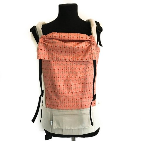 Mochila Ergonómica - Coral Arrows Toddler