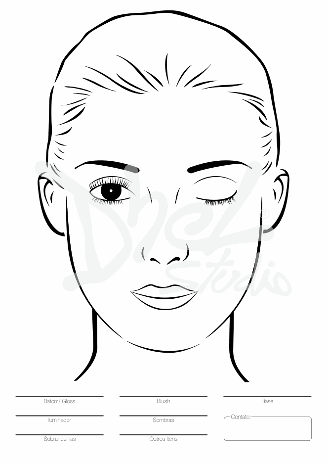 Blank Face Outline | pillow people | Pinterest | Outlines ...