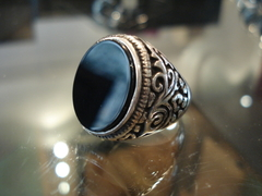 Anillo Onix Oval en internet