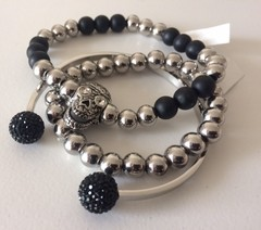 Pulsera BLACK FIRE BALL - Co&Co Diseño
