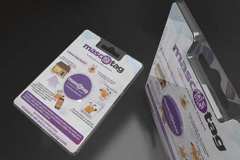 MascoTag (25 mm de diámetro por 1,5 mm de espesor para mascotas pequeñas)