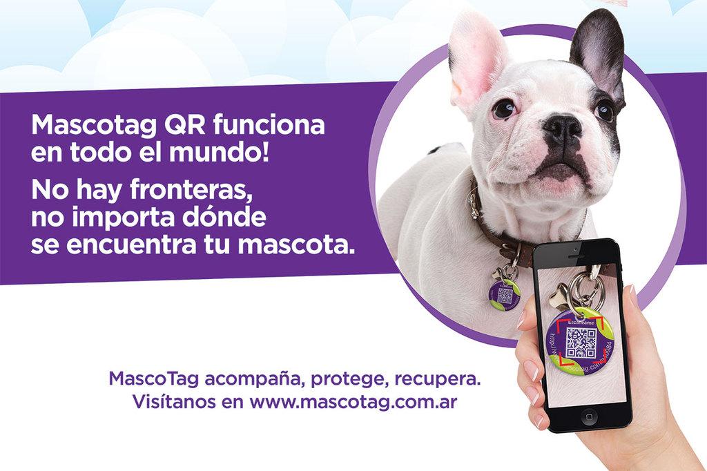 MascoTag (30 mm de diámetro con tecnología NFC)