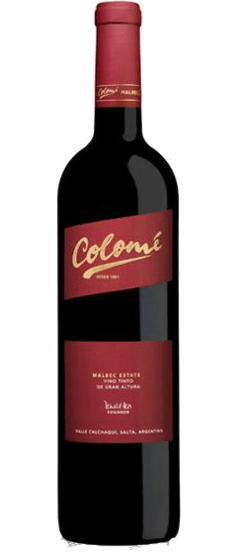 Colomé Estate Malbec - caja x 6 botellas - comprar online