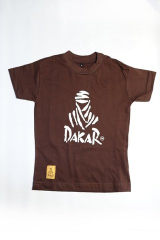 Remera Dakar Niño Chocolate