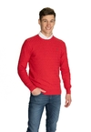 Sweater Punto Diamante Miles Geranio