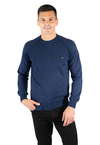 Sweater Base Algodon GG10 Marino