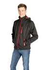 Campera Softshell Negro