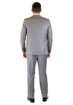 Ambo Slim Fit Gris Medio en internet