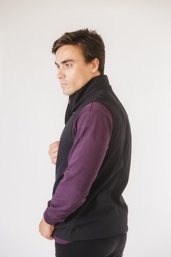 Chaleco Softshell Negro - comprar online