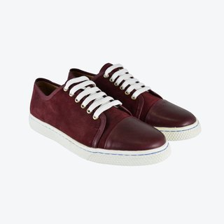 Zapatilla Gamuzon Glass Borravino - comprar online