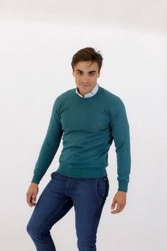 Sweater Base Verde Palta