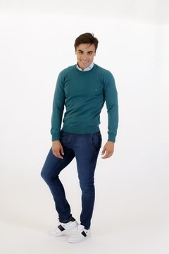 Sweater Base Verde Palta - Pato Pampa