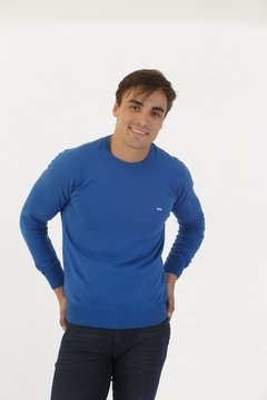 Sweater Base Azulino