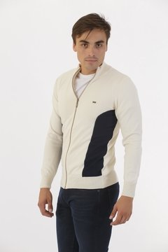 Campera con Recortes Crudo en internet