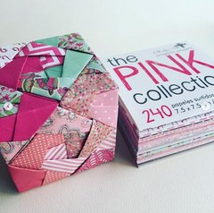The Pink Collection 240 papeles 7.5x7.5 cm - comprar online