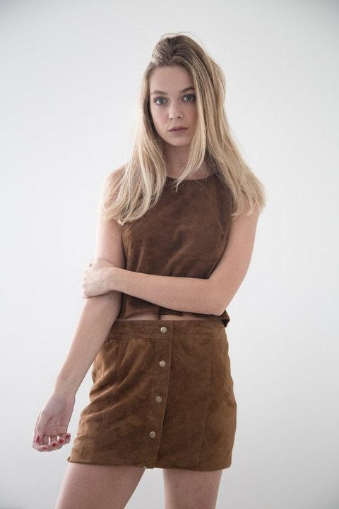 SKIRT 21 Suede