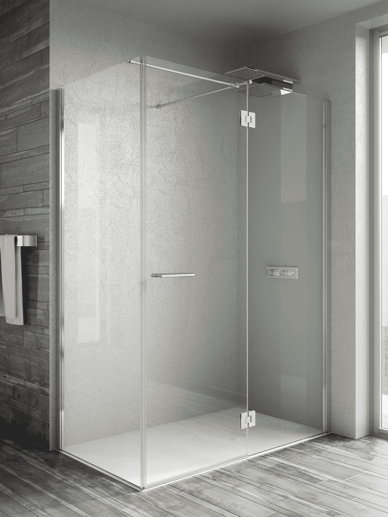 AQUAGLASS BOX DE DUCHA ELITE 120X70 PLATO + MAMPARA