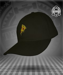 BONÉ DAD HAT PIZZA - NARINA PRETO