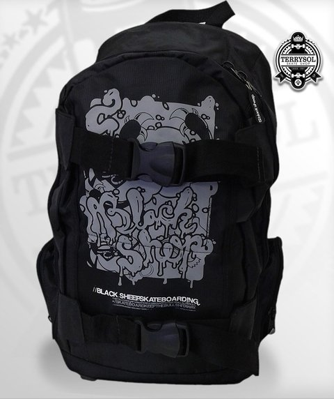 MOCHILA BÁSICA SKATE BAG - BLACK SHEEP