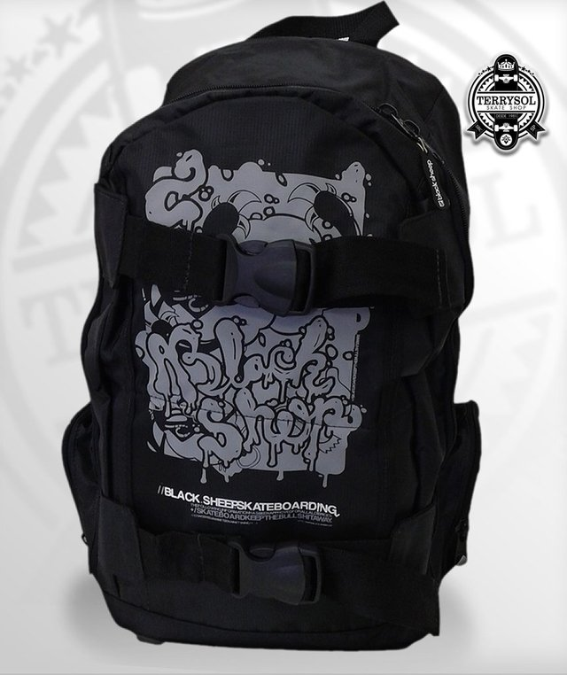 MOCHILA BÁSICA SKATE BAG - BLACK SHEEP - comprar online