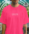 camiseta narina pink bordada simple