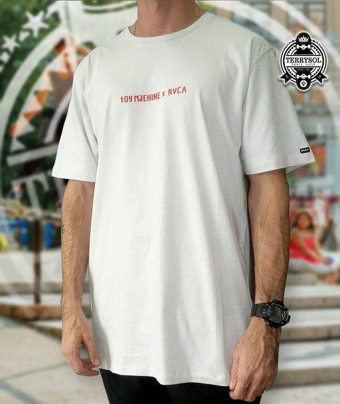 Camiseta SURFER - Toy Machine X RVCA Cinza - comprar online