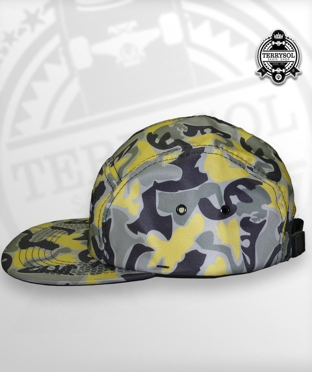 BONÉ FIVE PANEL SUPERO CAMUFLADO na internet