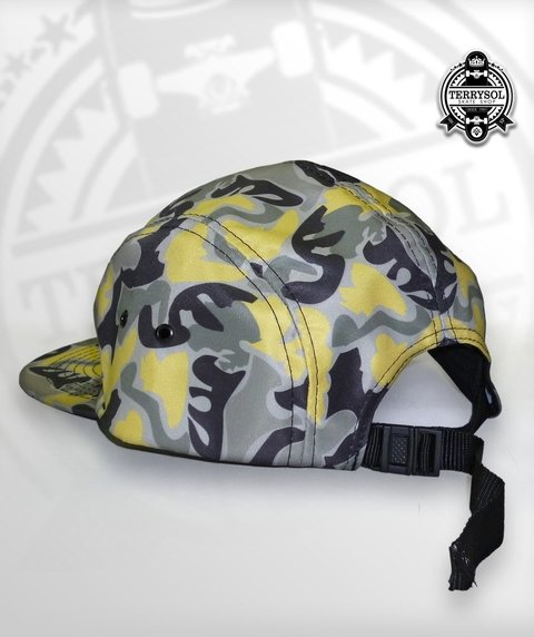BONÉ FIVE PANEL SUPERO CAMUFLADO - Terrysol Skate Shop