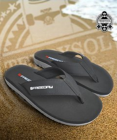 CHINELO DE DEDO SANDALS - FREEDAY PRETO/CINZA