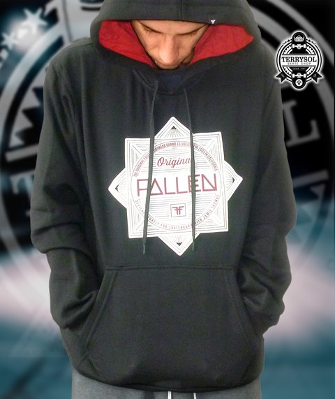 MOLETOM RED LIGHT 340 - FALLEN