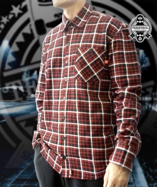 Camisa Flanelada Xadrez - This Way