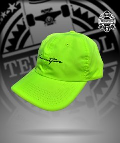 bone dad hat fluorescente new skate