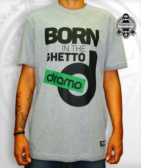 Camiseta Born in The Guetto - DRAMA - comprar online