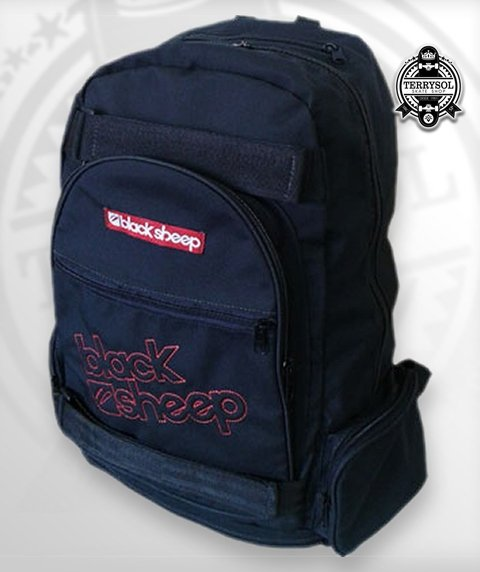 MOCHILA LED SKATE BAG - BLACK SHEEP