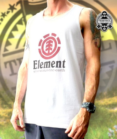 REGATA ELEMENT - ESSENTIAL LOGO BRANCA