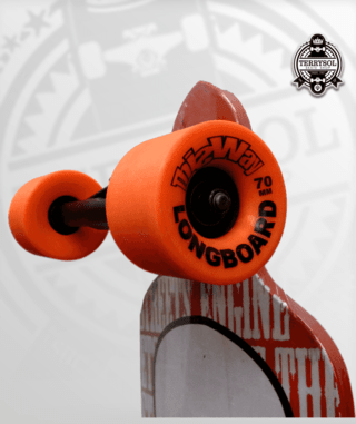 longboard thisway assimetrico completo - Terrysol Skate Shop