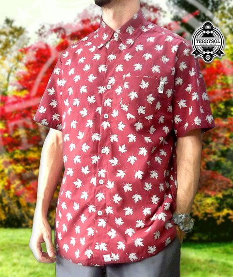CAMISA MAPLE LEAF - NARINA