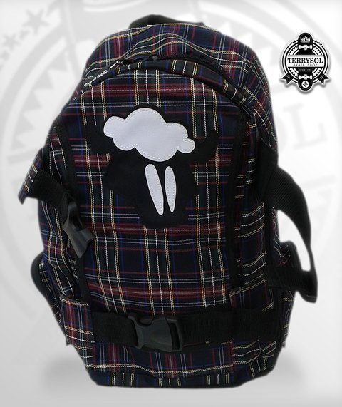MOCHILA XADREZ SKATE BAG - BLACK SHEEP